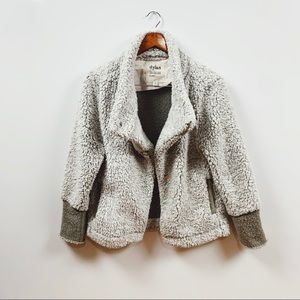dylan | sherpa motto style jacket